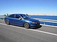 Audi A4 in Jablanac / Kroatien - 30.05.2009